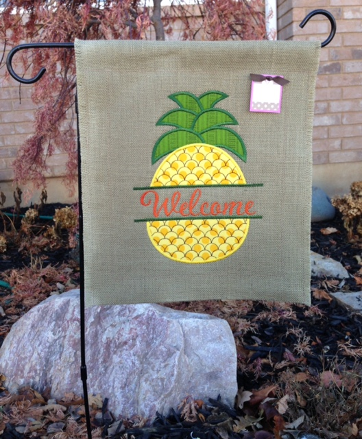Pineapple Garden Flags
